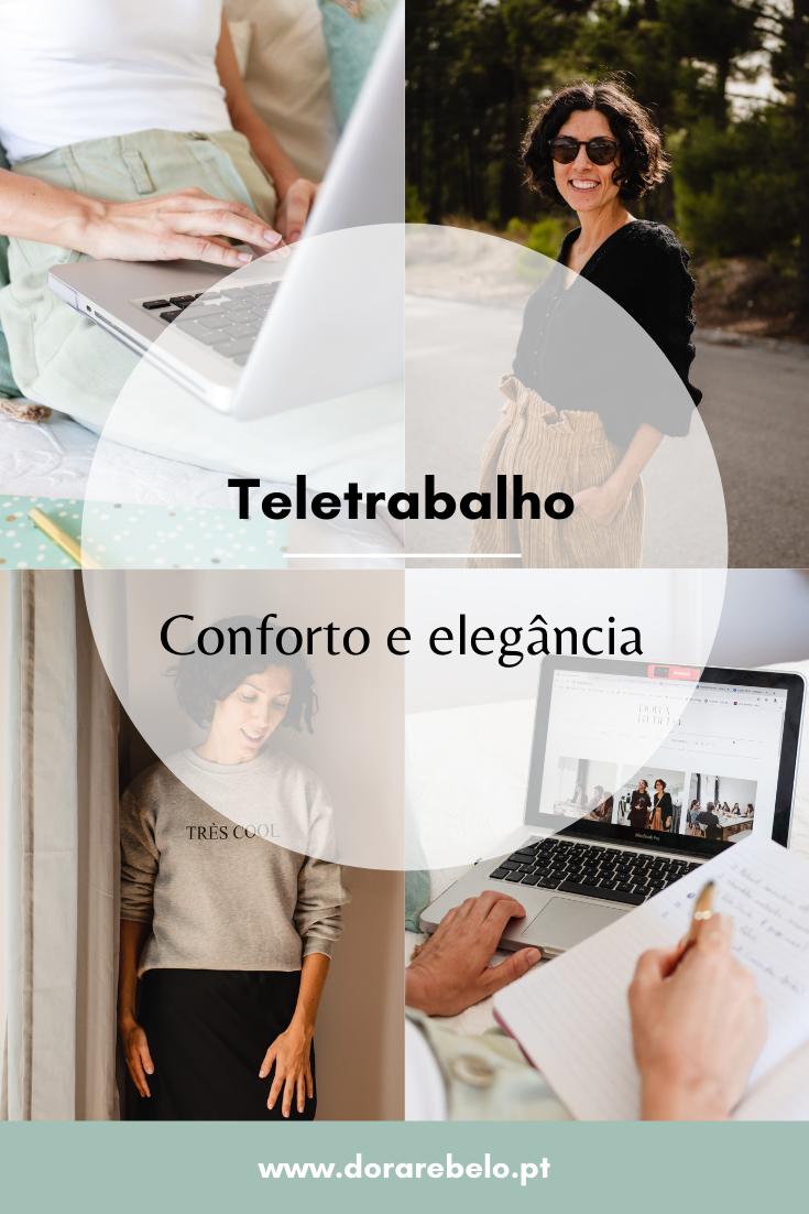 COMO ESTAR CONFORTÁVEL E ELEGANTE EM TELETRABALHO